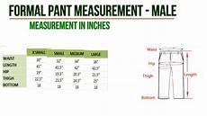 J Pants Size Chart Men S Dress Measurement Chart For Pant Amp Shirt We Are