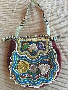 beadwork bag antique iroquois beaded bag beadwork dg1c