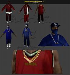 Bloods Vs Crips Player Models Bloods Vs Crips Package No More Room In