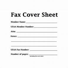 Examples Of A Fax Cover Sheet Sample Basic Fax Cover Sheet 13 Documents In Word Pdf