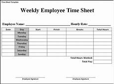 Example Of Timesheet For Employee Weekly Timesheet Template Word Emmamcintyrephotography Com