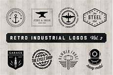 Industrial Logo Design Retro Industrial Logos Volume 2 Logo Templates On