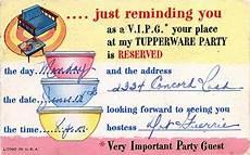 Tupperware Party Invitations Tupperware Party Invitation Tupperware Vintage