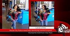 Walmart Royse City Royse City Police Need Help Identifying Wanted Suspect