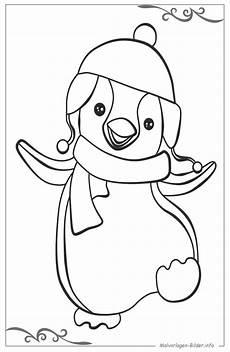 pinguine bilder zum drucken und ausmalen with