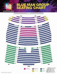 Asolo Seating Chart Blue Man Group Seating Chart