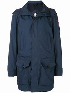 goose coats for rsin canada goose goose crew jacket in blue for lyst