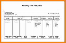 Free Downloadable Calculator 7 Free Pay Stub Template With Calculator Pay Stub Format