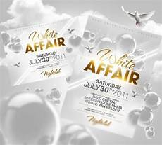All White Party Invitations Templates Party Invitation Flyer Design Invitation Flyer Party