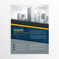 Cover Design Online Free Blue Annual Report Brochure Cover Page Design Leaflet
