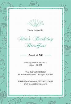 Free Invitation Template Download Birthday Invitation Template 44 Free Word Pdf Psd Ai