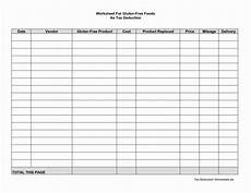 Tax Deduction Spreadsheet Tax Deduction Spreadsheet In Clothing Donation Tax