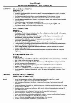 Database Management Resume Database Developer Resume Samples Velvet Jobs