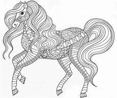 pferde 15 ausmalbilder f 252 r erwachsene
