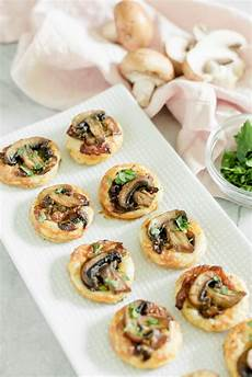 easy appetizers mini puff pastry bites