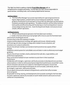 Office Job Description Free 9 Sample Office Manager Job Description Templates In