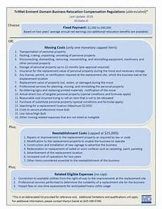 Relocation Benefit Southwest Corridor Light Rail Project Relocation Benefits