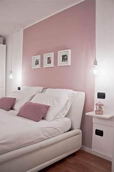 da letto rosa relooking di un appartamento con soppalco da letto