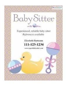 Babysitting Pamphlets Free Babysitting Flyer Templates And Ideas Prospectus