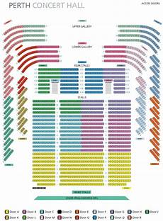 Asolo Seating Chart Seating Plan 187 Perth Concert Hall