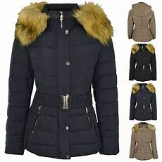 womans plus coats womens plus size fur hooded quilted padded winter