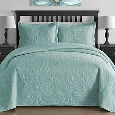 new cal king size bed aqua blue coverlet quilt