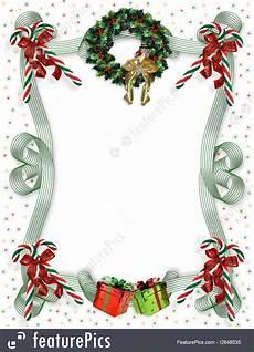 Christmas Card Borders Free Templates Christmas Border Traditional Stock