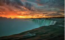 Nature 4k Wallpaper For Tablet by Niagara Falls In Canada Sunset Landscape Nature 4k Ultra