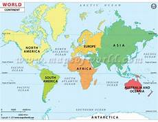 Continent World Map Buy World Continent Map Continent Map Of The World
