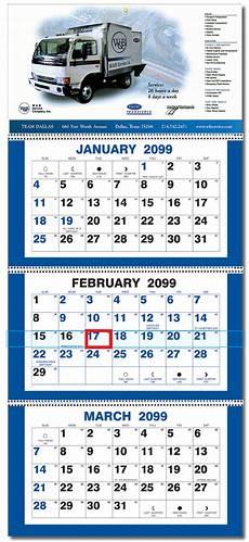 2020 Three Month Calendar 2021 Three Month Four Panel Calendar Ty16 Calendar Company
