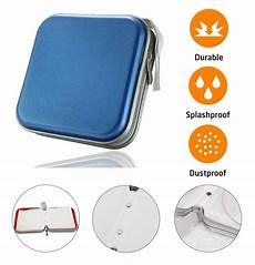 cases for cd 40 cd dvd carry case disc storage holder cd sleeve wallet