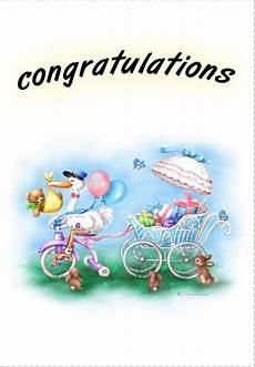 Congratulation Baby Cards Free Printable New Baby Congratulations Greeting Card