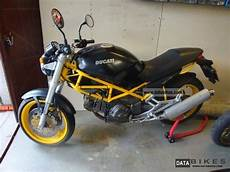 1998 Ducati Monster 600 Dark Special Edition Yellow And Black