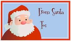 Santa Tag 40 Unique Printable Christmas Gift Tags Kittybabylove Com