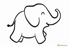 Elephant Printable Coloring Pages Of Elephants Download And Print For Free
