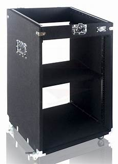rack mount cabinet flight studio mixer dj pa cart