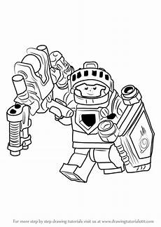 learn how to draw aaron fox from lego nexo knights lego