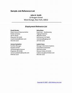 Professional Reference Page Template 40 Professional Reference Page Sheet Templates