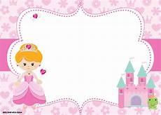 Printable Disney Princess Invitations Free Printable Disney Princess Birthday Invitations