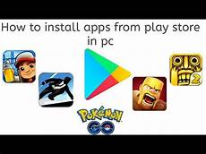 how to android apps from play store in pc or