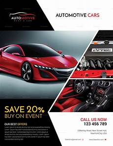 Car Sale Flyer Automotive Car Sales Flyer Design Template In Psd