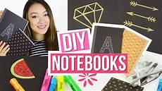 diy notebooks for back to school easy diy school supplies
