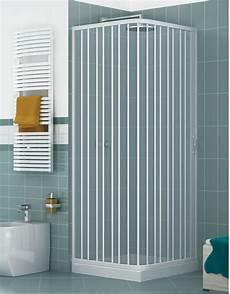 cabina doccia a soffietto box doccia 2 lati apertura laterale angolo tondo