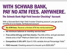 Charles Schwab Debit Card   Million Mile Secrets