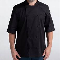chef coats black lightweight vented lightweight chef coat 5612 chefwear