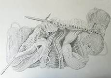 knit illustration a sketch in time knitting drawing drawing knitting