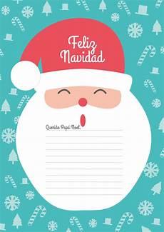Cartas Para Papa Noel Carta Para Pap 225 Noel Imprimible Magicadisseny