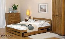 nodax new solid wooden king size bedframe quot f10 quot pine