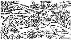 Dinosaurier Ausmalbilder A4 Krokodil Mit Dinosauriern Ausmalbild Malvorlage