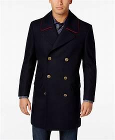 big mans breasted coats tallia big s navy solid overcoat wool bomber
